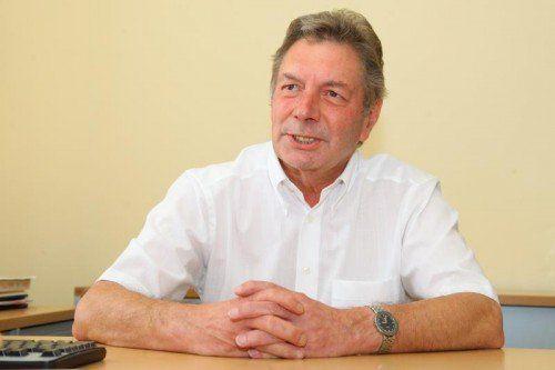 Russ-Preis-Träger Dr. Gebhard Mathis