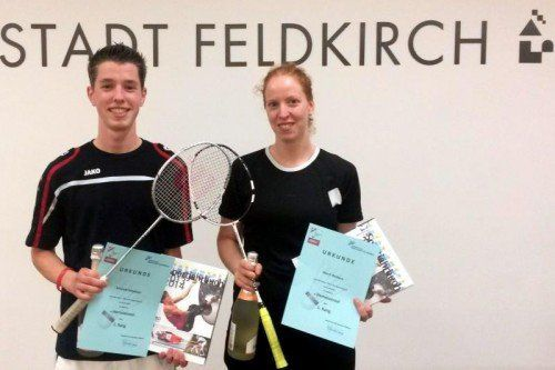 Sebastian Schwald gewann im Einzel und im Doppel. Foto: Privat