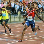Gatlins Kampfansage an Bolt