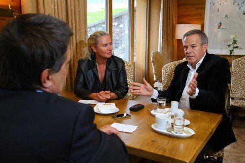 """Siegfried Wolf: """"Die USA haben kein gesteigertes Interesse am europäisch-russischen Wachtumsfeld."""" Foto: BH"""