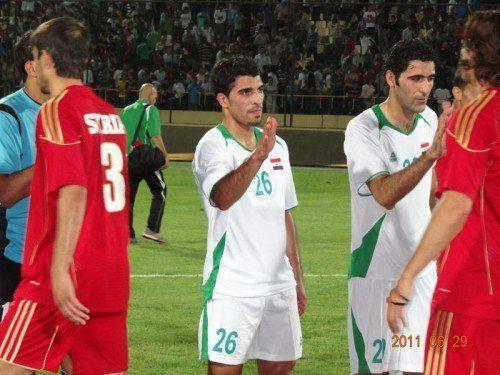 Spielt ab sofort wieder im Irak: Murad Gerdi (28). Foto: Privat