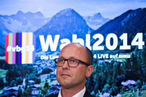 SPÖ-Spitzenkandidat Michael Ritsch zerknirscht: Seine Partei rutschte auch in seiner Heimatstadt Bregenz unter die 20-Prozent-Marke.