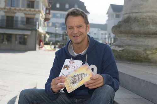 Stefan Schlenker aus Dornbirn gilt als künstlerisches Allround-Talent. Ende Oktober erscheint sein zweites Kinderbuch. Foto: VN/Stiplovsek