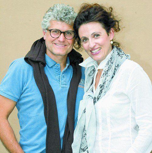 Sybil und Christoph Eggarter (Massive Art Wine).