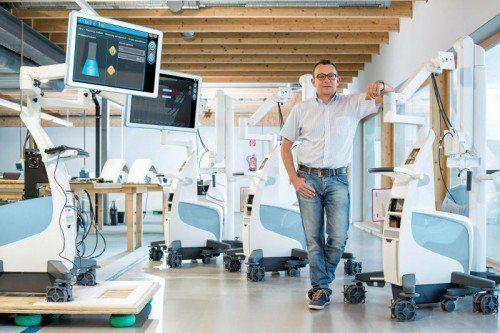 Udo Filzmaier hat analysiert, was er beruflich will, und das dann mit seinem Unternehmen S.I.E. umgesetzt.  Foto: S.I.E.