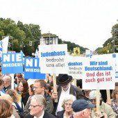 Tausende Deutsche setzen Zeichen gegen Judenhass