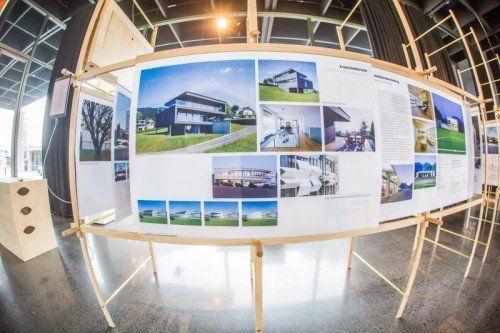 Unter den präsentierten Projekten befinden sich auch jene des Medienhaus-Architekten Ernst Giselbrecht.