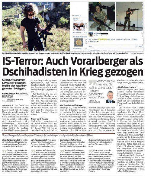 VN-Bericht vom 17. 9. 2014.