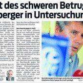 Neuerliche Haftprüfung: Keine Freiheit für Dieter Sperger (51)