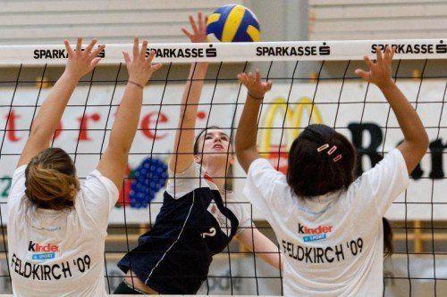 Volleyball, Rondo-Cup, Reichenfeldhalle Feldkirch, SSK Feldkirch
