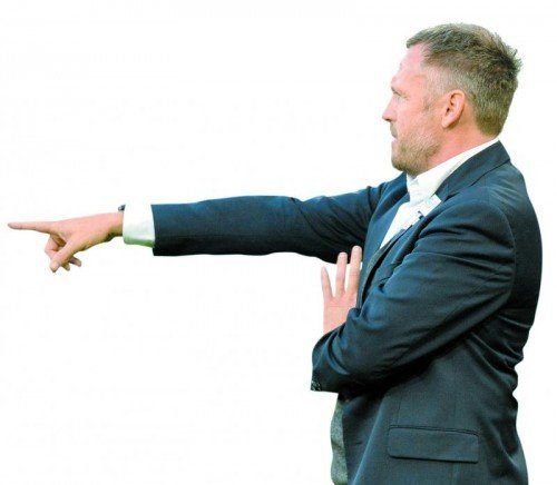 Wacker-Coach Michael Streiter (Bild) macht sich für seinen Trainerkollegen stark. Foto: gepa