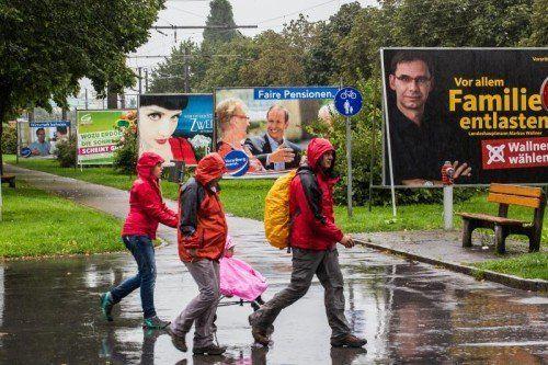 Welche Partei wird wie stark im künftigen Landtag vertreten sein? Kommenden Sonntag entscheidet der Wähler darüber. Fotos: VN/Steurer