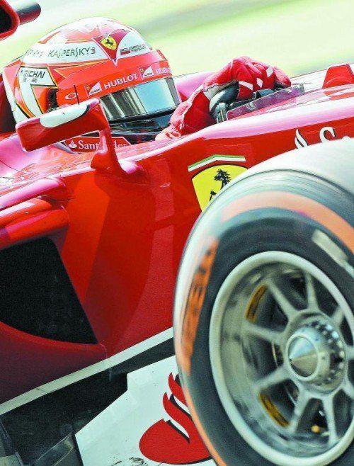 Will im Cockpit Ruhe haben: Ferraris Ass Kimi Räikkönen. Foto: apa