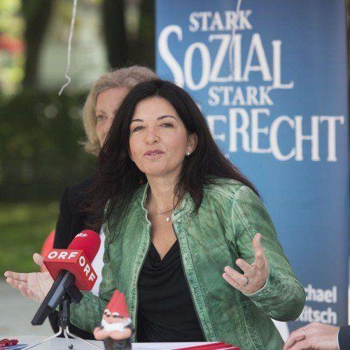 Soll Reinhold Einwallners Landtagsjob erben: Manuela Auer. VN