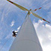 SMS-Umfrage zu Windrädern