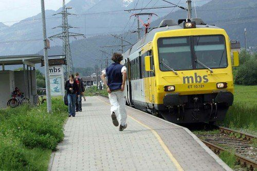 Zu laut? Die Montafonerbahn kämpft immer wieder mit Beschwerden wegen Lärmbelästigung. Foto: mbs