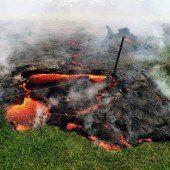 Vulkan Kilauea bedroht Häuser auf Hawaii