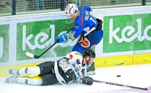 1:5 in Villach, Niki Petrik und Co. liegen am Boden. Foto: gepa
