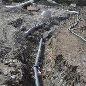100.000 Euro für eine neue Wasserleitung