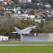 Der notgelandete Eurofighter flog wieder