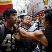 Demonstranten heben die Blockaden auf
