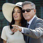 Alamuddin heißt jetzt Clooney