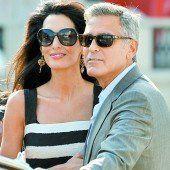 Die Clooneys arbeiten wieder