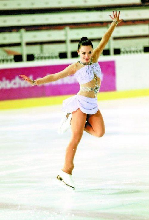Amina Gohm: zweiter Saisonbewerb, erster Sieg. Foto: privat
