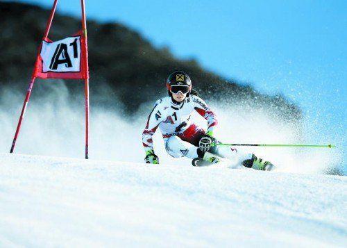 Anna Fenninger möchte beim Saisonauftakt in Sölden erstmals aufs Podest fahren. Foto: gepa