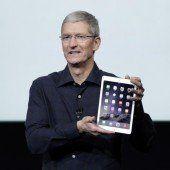 Apple stellt seine neue iPad-Generation vor
