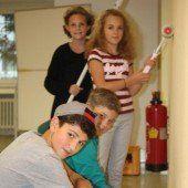 Finalarbeiten beim neuen Jugendtreff in Lustenau