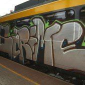 Graffiti verursachen Millionenschäden