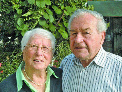 Auf 60 schöne, aber auch arbeitsreiche Jahre blickt das Paar zurück.
