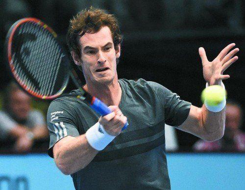 Auf Andy Murray wartet heute Qualifikant Viktor Troicki. Foto: apa