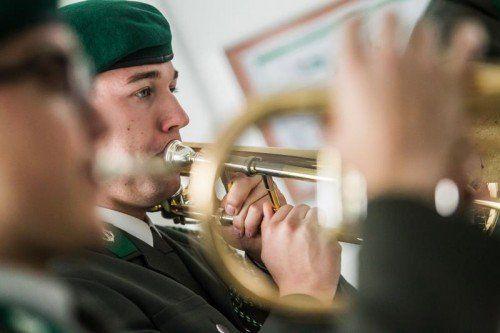 Aufregung herrscht über den Plan des Verteidigungsministers Gerald Klug, die Vorarlberger Militärmusik aufzulösen. foto: vn/steurer