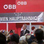 Wiener Hauptbahnhof feierlich eröffnet
