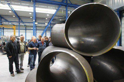 Beeindruckende Durchmesser: Erne ist Markt- und Technologieführer in der Branche.  Foto: VN/Hofmeister