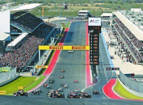 Beim Grand Prix in Austin geht das Duell der Silberpfeile in die nächste Runde. Foto: ap