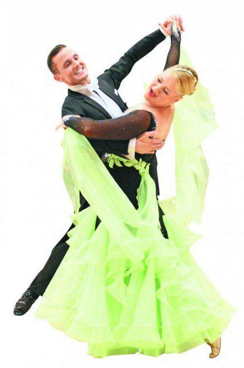 Bernhard und Barbara Baldauf wurden österreichische Meister in der A2-Klasse der Standardtänze. Foto: privat