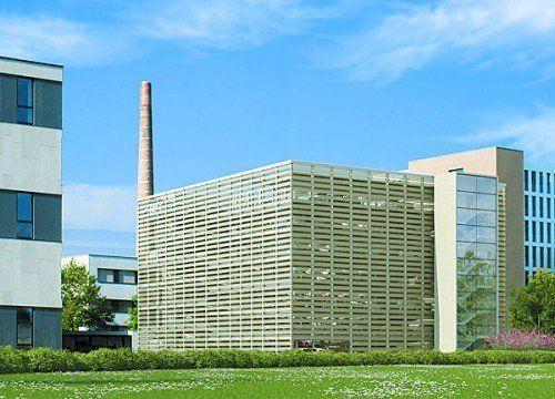 Bis Dezember fertig: Parkhaus in Rhomberg's Fabrik.  Foto: RL