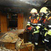 Wohnungsbrand in Weiler geht glimpflich ab