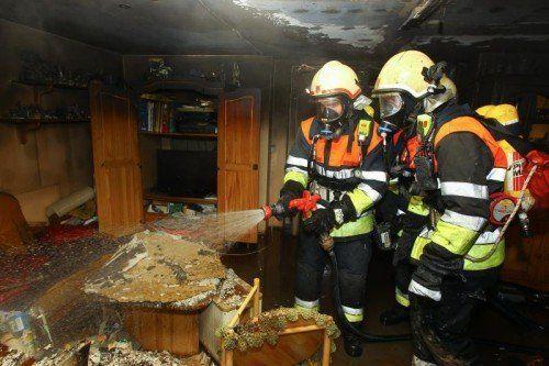 Brand Zimmerbrand Weiler Herrengasse 3; gegEn 18.15 UHR