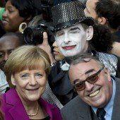 Deutschland feierte Einheit