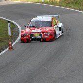 Lampert-Sieg mit dem Testauto