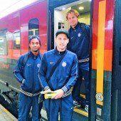 Austria mit dem Zug nach Vorarlberg