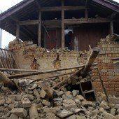 Ein Toter und Hunderte Verletzte bei Erdbeben