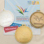 Medaillenset umfasst 228 Einzelmedaillen