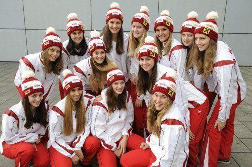Das Meisterinnenteam des TSZ Dornbirn. Foto: vts