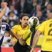 Dortmund stellt die Weichen für das Achtelfinale