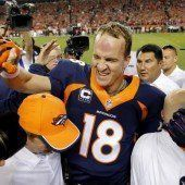 Peyton Manning mit neuem Pass-Rekord